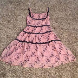 Moschino 100% Silk knee length dress!💐